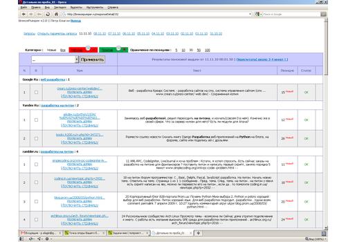 Пример 2 : Сервис мониторинга мнений пользователей
