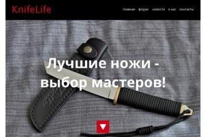 Пример 1 : Сайт компании World Blade